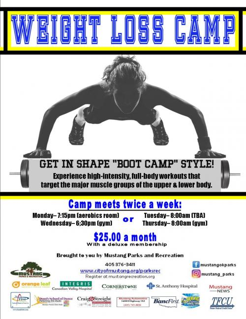 Weight loss camp for adults in mn